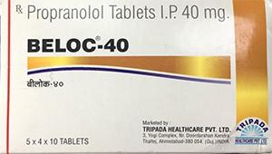 Propranolol 40 mg