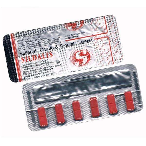 Sildalis (Sildenafil + Tadalafil)