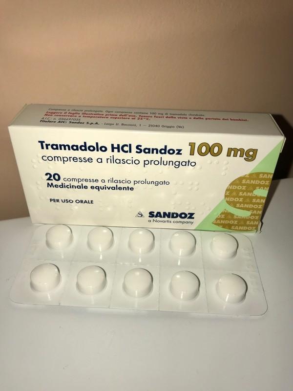 Tramadol 100 mg Brand by Sandoz