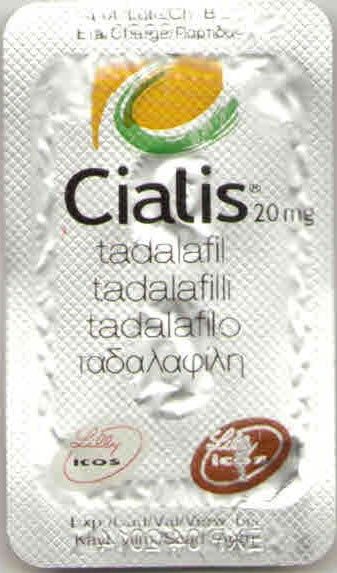 Brand Cialis 20 mg Lilly