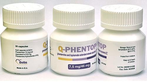 Q-Phentop Qsymia 7.5mg