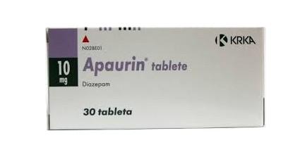 Apaurin Diazepam 10 mg
