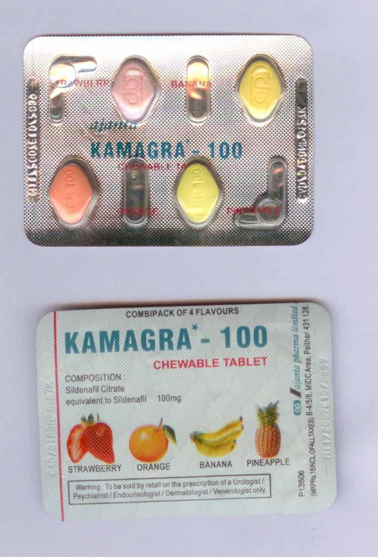 Kamagra (Viagra Generico) Chewable 100 mg