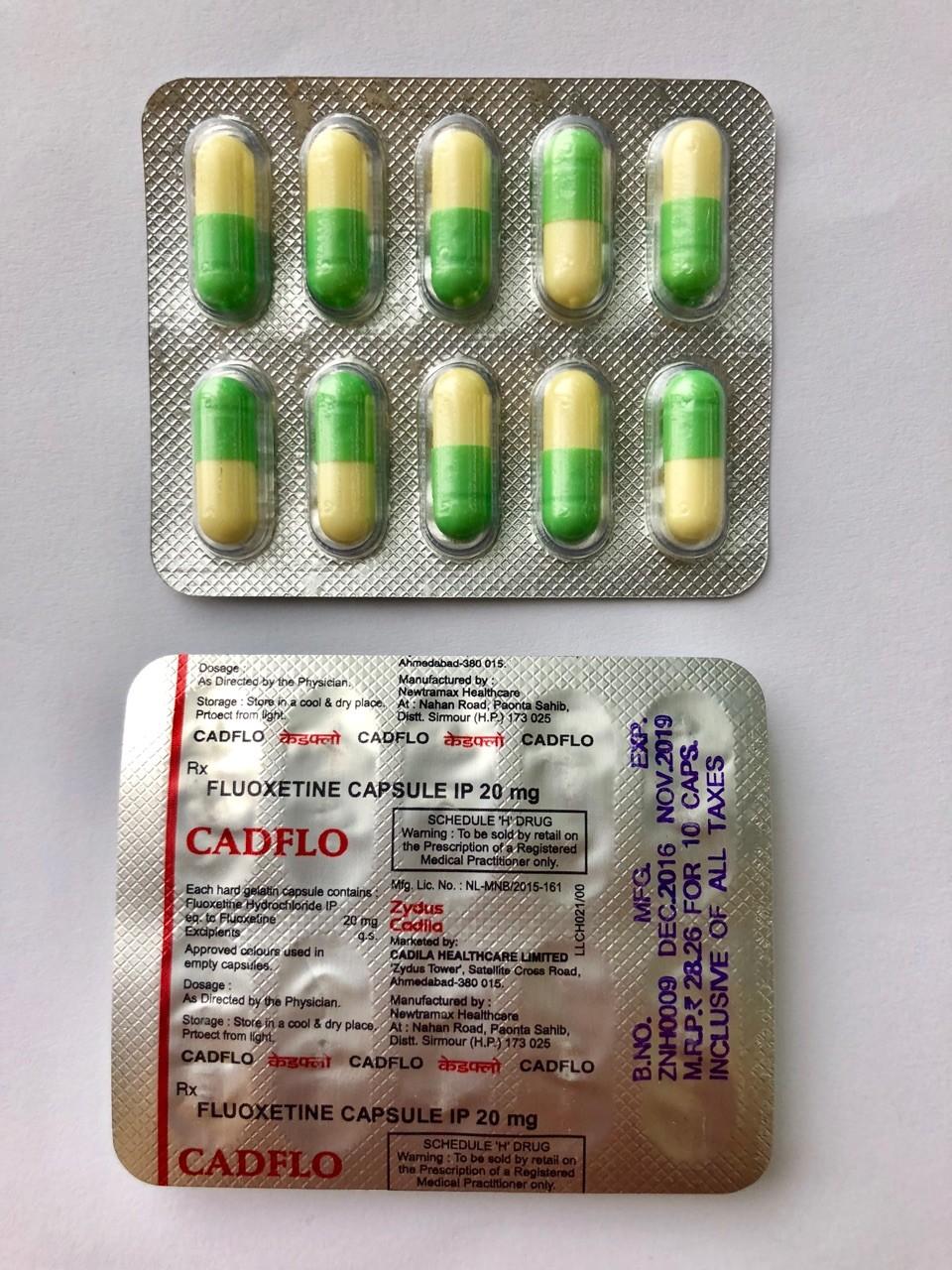 Fluox (Fluoxetine / Lovan) 20 mg